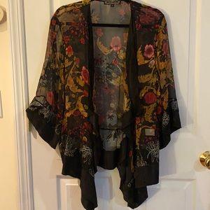 Sheer Vintage Violet Kay Kimono/Jacket